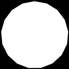 3月30日は正十七角形が定規とコンパスだけで作図可能なことが発見された日です。